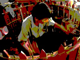 Par Par Lay percussionist in Mandalay